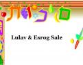 YISE Lulav & Esrog Fundraiser 2014